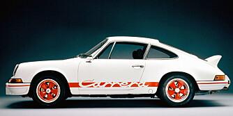 Selve opphavet: Legendariske Porsche 911 2,7 RS fra 1973.