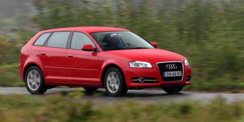 OGSÅ BERØRT: Audi-modeller med EA189-motoren er også berørt av juksingen. Det samme gjelder konsernets andre merker.