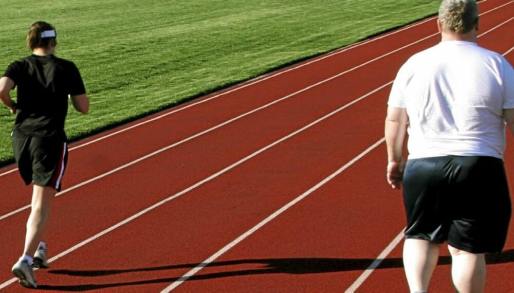 4239ec33 STOR BELASTNING: Sykling og svømming er sunnere enn løping for overvektige,  mener NIMI-