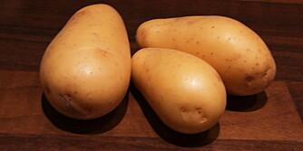 IKKE FETENDE: Det er viktig å velge poteter i naturlig form, og ikke som potetgull og pommes frites.