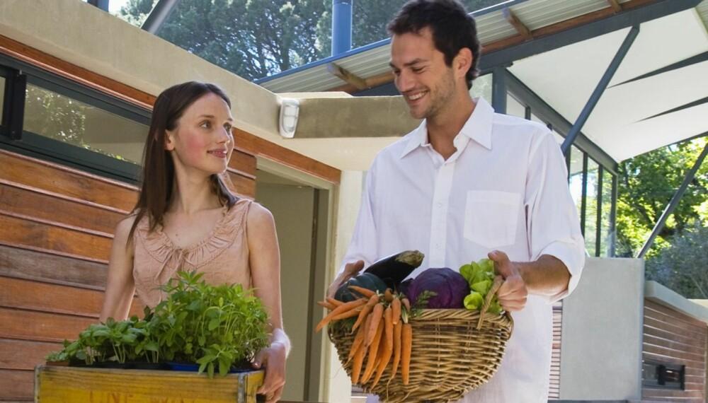 SUNNERE? Ernæringseffekten en får av å observere mennesker som spiser økologisk mat, kan komme av at de som spiser økologisk ofte er de som har en sunn livsstil ellers også.