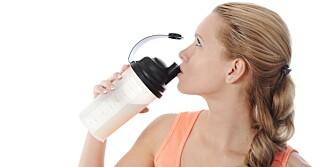 PROTEIN-SHAKE: Før du begynner å bruke proteintilskudd, bør du ta en kikk på kostholdet ditt og se om du egentlig trenger det.