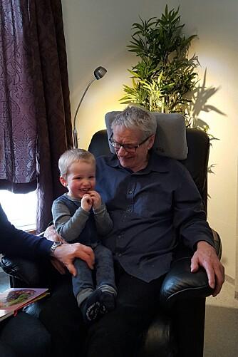 BARNEBARNET: - Hugo er tre år og bestevennen til bestefar.