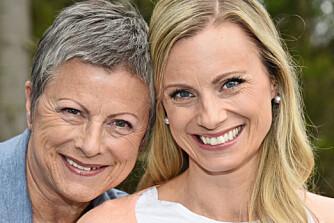 TAKKER MAMMA: - Jeg er blitt den jeg er takket være oppveksten og min fantastiske mor, sier Silje Sandmæl, som er forbrukerøkonom i DNB. Moren Kari hadde dårlig råd i mange år.