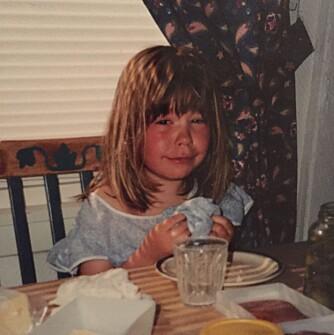 SINT: Også som barn kom tårene lett så fort Madeleine ble sint.