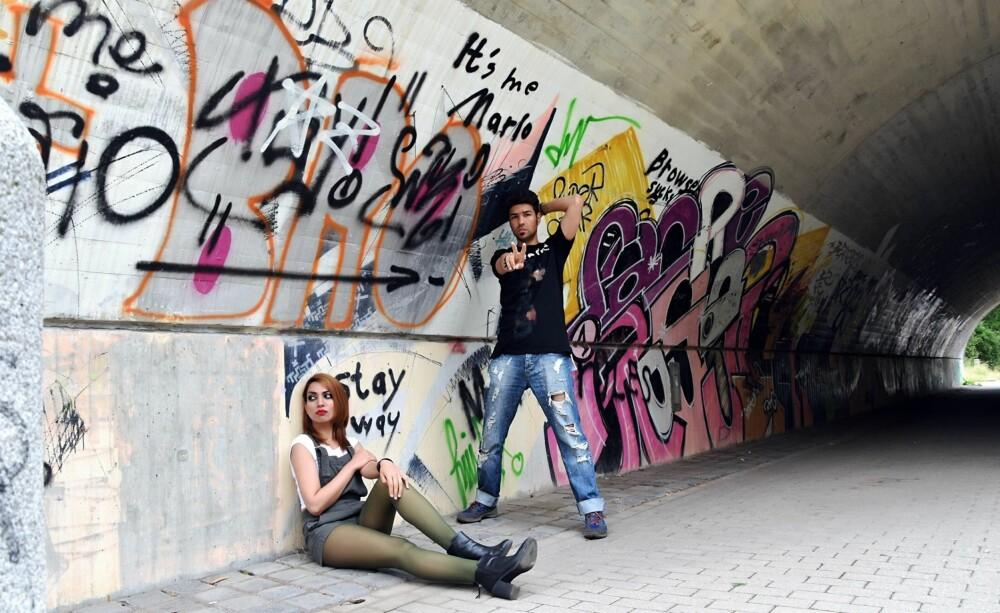 BAND: Paradise og forloveden Diverse måtte flytte fra Afghanistan etter utallige trusler. Nå bor de i Berlin.