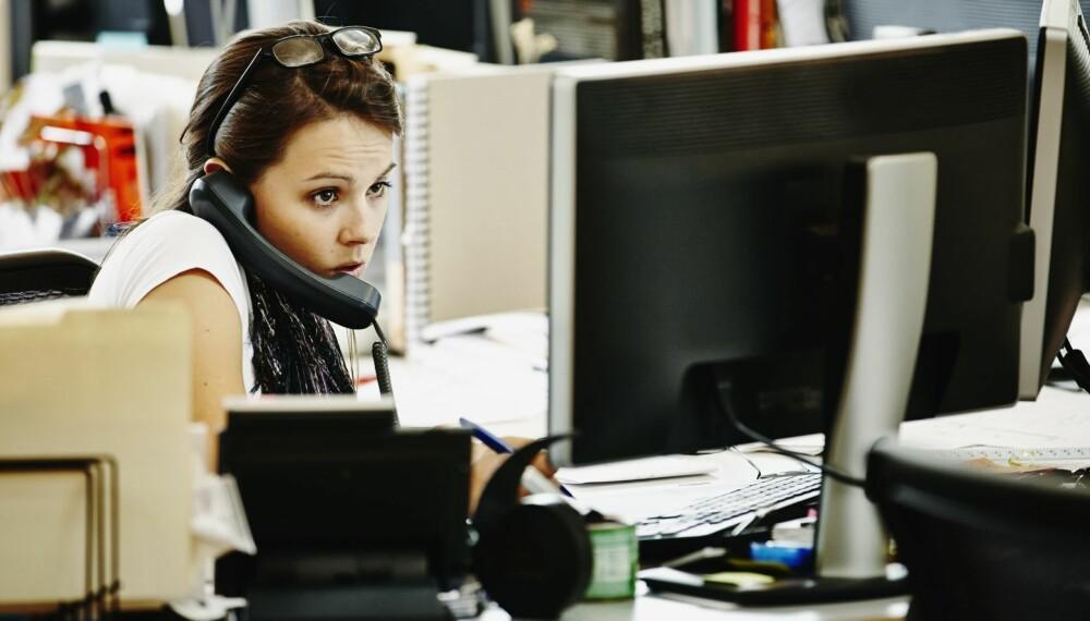 MISTRIVSEL: Det kan bli en form for trygghet å ha det litt dårlig på arbeidsplassen.