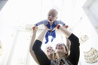 MER TID: Mødre og fedre får nå for første gang i noen amerikansk by rett til full lønn i permisjonen. En stor seier - selv om det bare er seks uker.