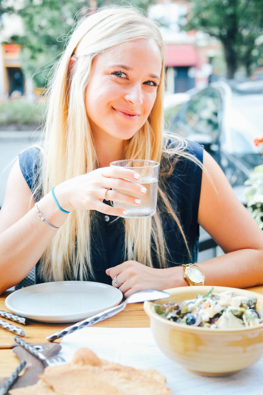 EKSTREMT: - I stedet for å bare ta en annen juice på menyen insisterte jeg på å gå flere kilometer i en annen retning for å finne juice-barens andre filial, forteller Jordan Younger, bloggeren bak The Balanced Blonde, om sin sykeste periode.
