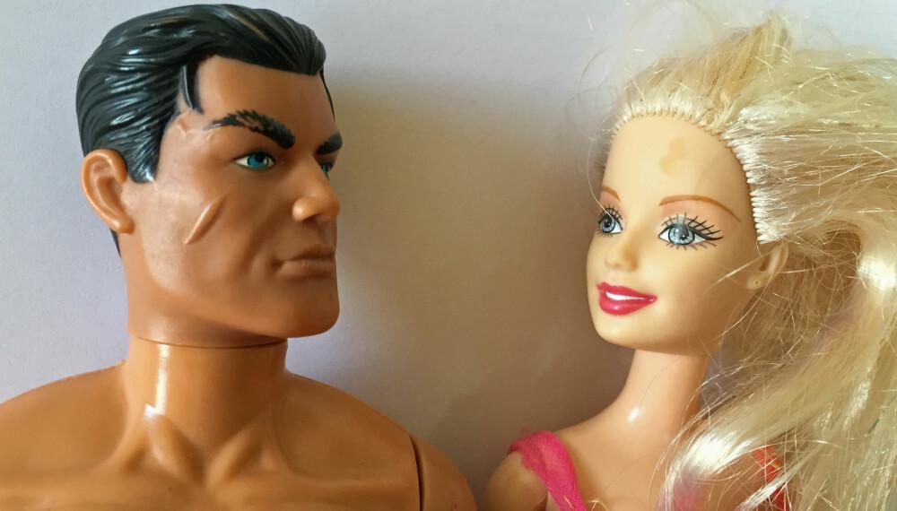 DUKKER - TIL HVEM? Actionman og Barbie markedsføres mot ulike målgrupper.