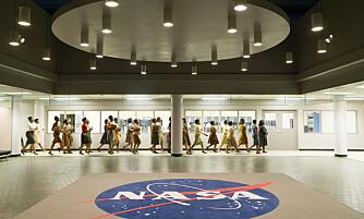 GLEMT AV HISTORIEN: - Mange kvinner var innvolvert i romkappløpet. De ble nærmest visket ut av historien, sier NASAs egen sjefshistoriker Dr. Bill Barry. Her en scene fra filmen Hidden Figures.