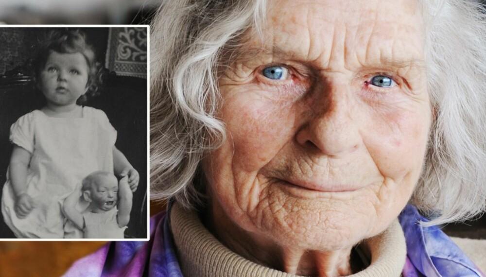 GITTE HAUG: Kom til Norge som 16-åring, som datter av en norsk far og tysk mor.
