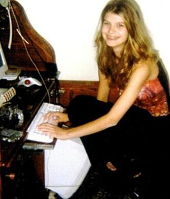 UTSATT FOR OVERGREP: På familiens stasjonære PC fikk Alicia (her 13 år) kontakt med en mann som kidnappet og forgrep seg på henne i fire dager.