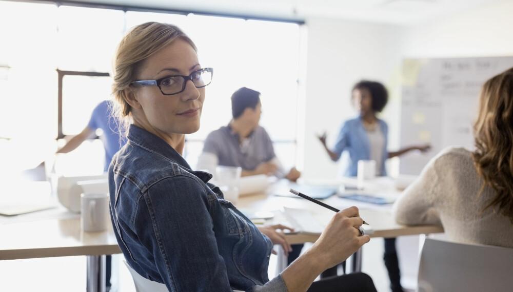 SYNLIG: Du kan selv sørge for å bli sett og hørt på jobb.