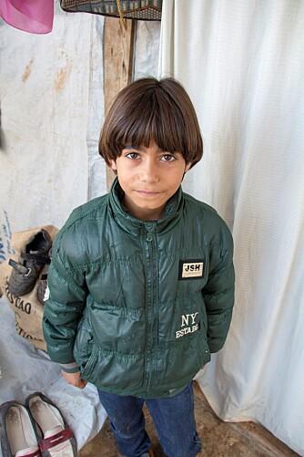SPISTE GRESS FOR Å OVERLEVE: Abdullah (10) var nødt til å spise gress for ikke å sulte ihjel.