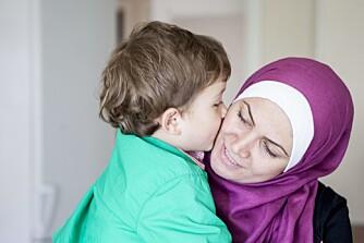 FLYKTET FRA SYRIA: Taim (4) sluttet å snakke like før familien flyktet. - Han ville bare være alene, ville ikke kommunisere. Men han åpnet seg etter at vi kom til Norge. Det er godt å se, sier mamma Safaa Fedda.