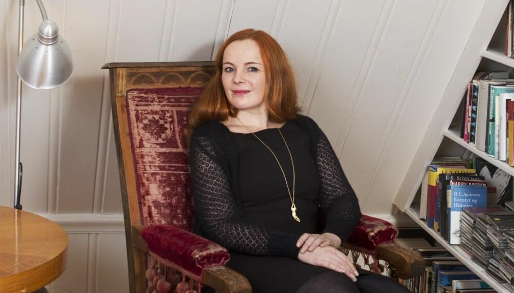 FRIVILLIG BARNLØS: Anne Bitsch har valgt å ikke få barn.