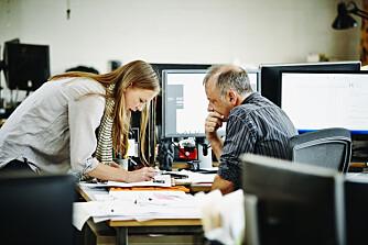 DRØMMEN: Oversikt og null stress på jobb.