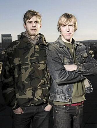 HEDRES: Jonas Ravlo Stokke og Øystein Austad.