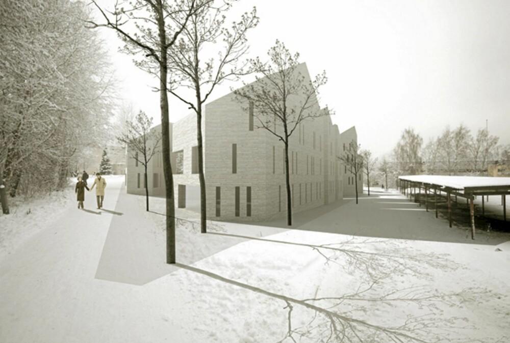 SÆREGENT: Juryen falt for den spesielle stilen til Eriksen Skjaa Arkitekter og prosjektet Shuffle.