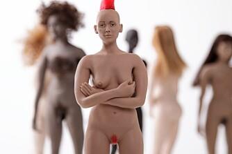 ALTERNATIV: Julia Taubes dukker skal være en motsats til figurer som speiler urealistiske idealer.