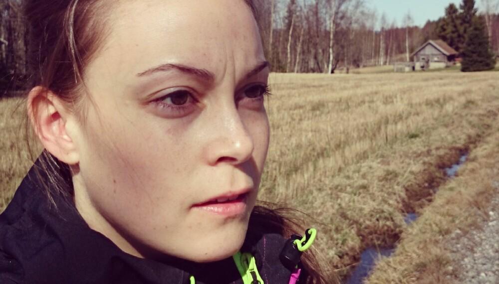 """PÅVIRKNINGSKRAFT: """"Mediene, deriblant bloggerne, fortalte meg at lange løpeturer var viktig, derfor tvang jeg meg selv ut, selv om jeg hatet det."""""""