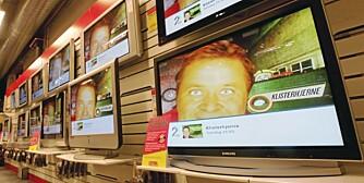 Flatskjermer er mer og mer populære men de synder på strøm.