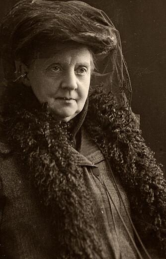 TOK KAMPEN: Portrett av Fredrikke Qvam, cirka 1913.