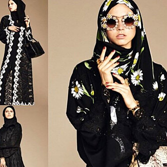 BLOMSTER OG BLONDER: Det italienske designmerket Dolce&Gabbana får skryt fra norsk-libanesiske Laial Janet Ayoub for å ikke bare ha helsvarte plagg.