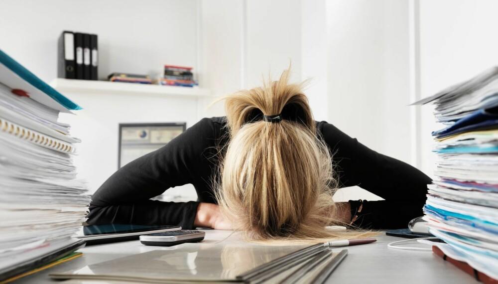 FØLELSER: Det er ingen skam å vise følelser, heller ikke på jobb.
