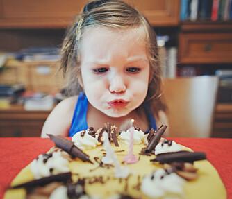 MÅ IKKE VÆRE PERFEKT: Fondant eller ikke fondant, kake er alltid godt - uansett.