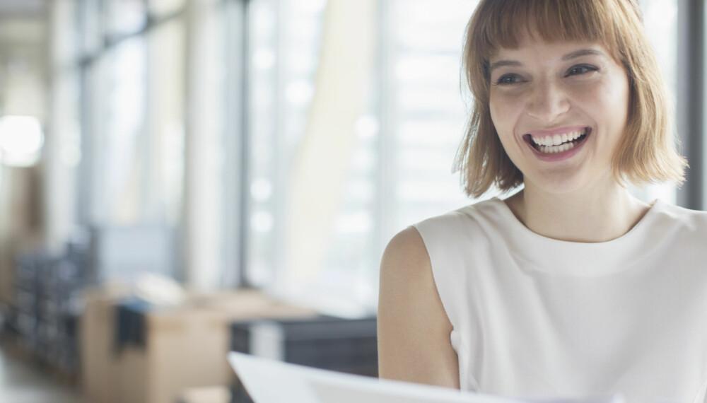 BYTTE JOBB: Når du er utlært i den jobben du har, er det på tide å finne en ny.