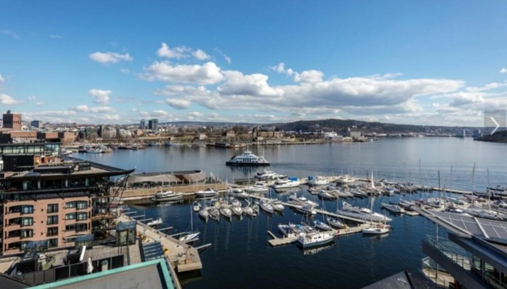 DYRE GATER: Tjuvholmen i Oslo er en av de dyreste stedene du kan bo i Norge.