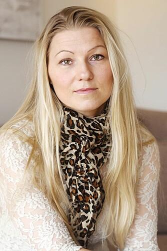 SORG: Helene brukte lang tid på å lære seg å leve med sorgen over å ha mistet Morgan.