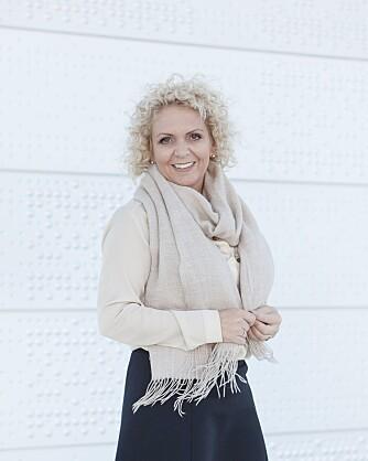 LURER SEG SELV: Cecilie Thunem-Saanum tror at mange som bytter bransje, kan oppleve at de blir nervøse for egne prestasjoner, selv om de i tidligere jobber har prestert godt. FOTO: Anne Elisabeth Næss.