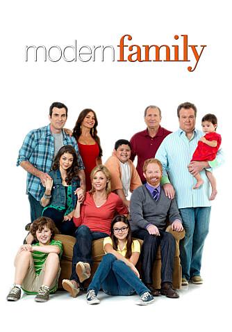 MODERN FAMILY-STJERNE: Ariel Winter spiller Alex i TV-serien Modern Family.