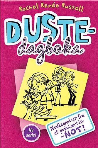 BESTSELGER: Serien «Dustedagbøkene» har blitt oversatt til 34 språk. Bare i Norge har den solgt 375 000 eksemplarer.