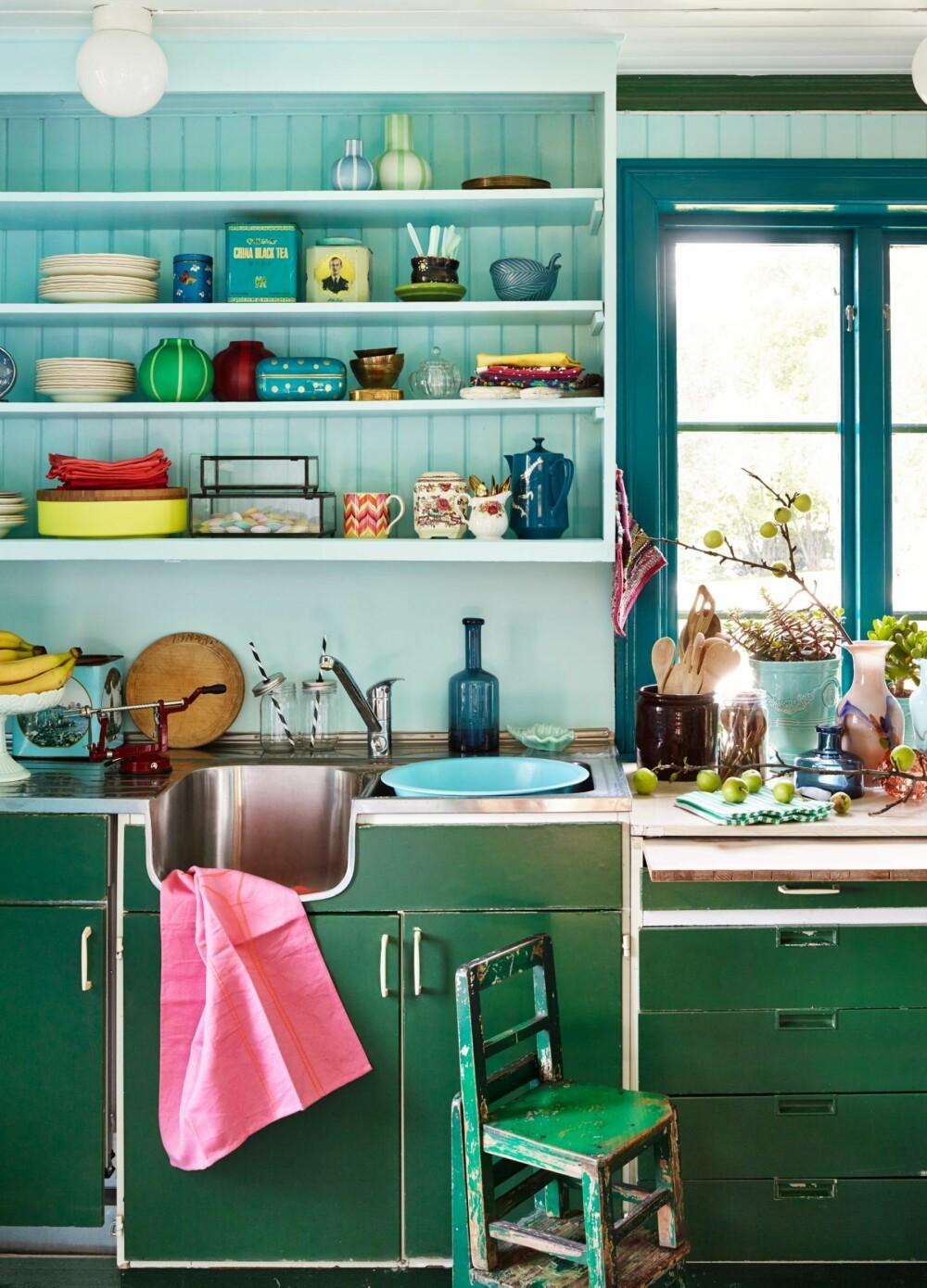FARGEFEST: Frodige fargekombinasjoner er ikke bare noe som kjennetegner det glade 80- og 90-tallet.