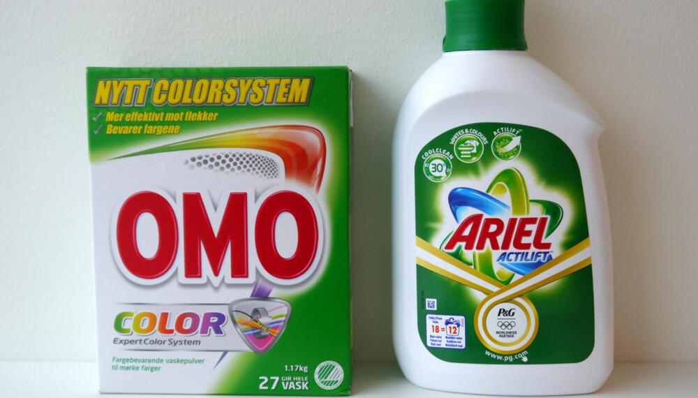 9221a3ff HVA BRUKER DU?: Hva er egentlig best å bruke av flytende vaskemiddel og  vaskepulver