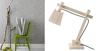 TRENDER 2012: Tøffe tapeter, sterkere fargebruk , kvalitetsmaterialer og skandinavisk design preget 2012.