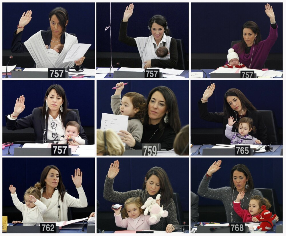 SE OG LÆR: Licia ønsker å bane vei slik at det blir lettere også for andre kvinner å kombinere tunge karrierer med småbarnsliv.
