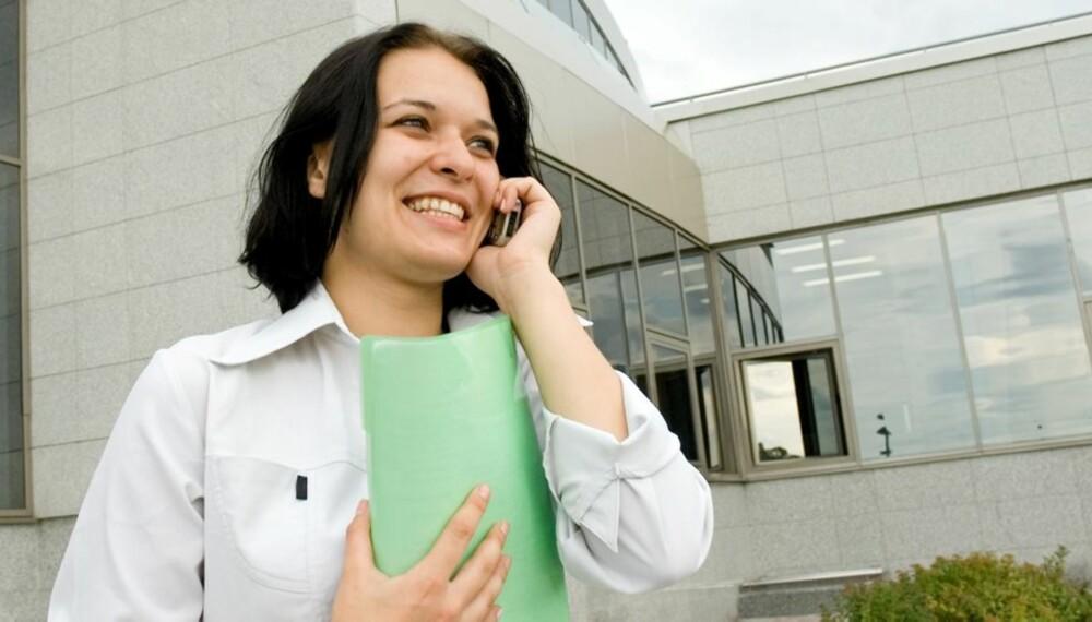 RINGERUNDE: Uteblir budene er det bare å begynne å ringe dem som har notert seg som interessenter.
