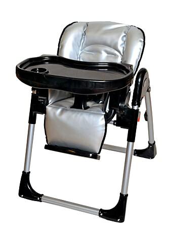 TEST: Høye barnestoler