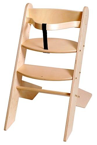 TEST: Høye barnestoler Marintra 123