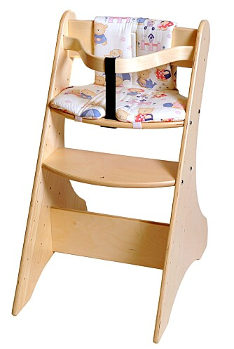 TEST: Høye barnestoler  Marintra Ruff Knuff