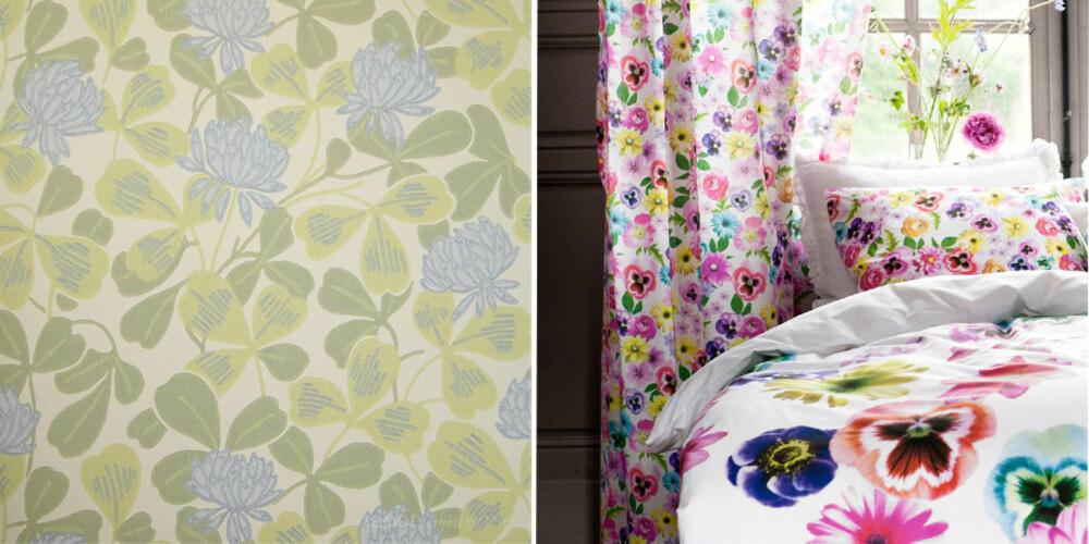 FLORA OF FAUNA: Blomster og blader kommer til å prege trendbildet.