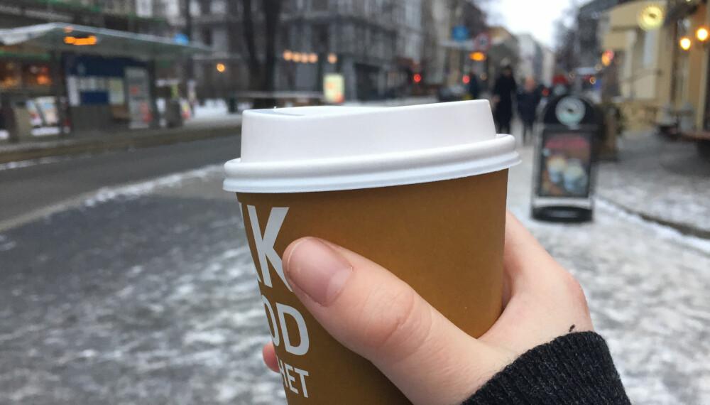 DU TRENGER IKKE DROPPE DENNE: Selvfølgelig er det mye å spare på å la være å kjøpe med seg kaffe hver dag, men det finnes også andre måter å samle opp penger på.