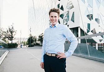 STUDERE I UTLANDET: President i ANSA, Jakob Bergvik Aure
