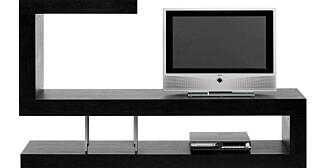 ROMDELER: Romdeler i sortbeiset eikefiner, som fint kan brukes som tv-benk. Pris: 5 999 DKK, www.club8.dk. I Norge selger Skeidar club 8-møbler.