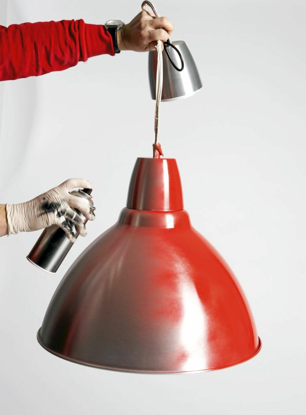 Foto taklampe, kr 259, fra Ikea.